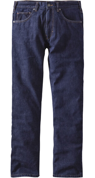 Patagonia M's Flannel Lined Straight Fit Jeans Regular Dark Denim
